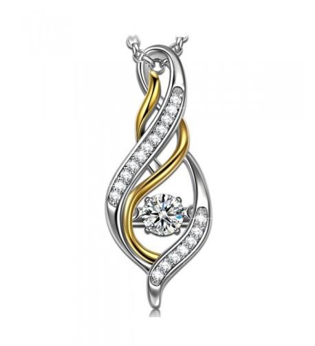 Lettering necklace Sterling Necklaces Swarovski