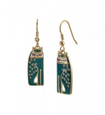 Laurel Burch Siamese Dangle Earrings