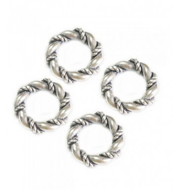 Sterling Silver Twisted European Spacer