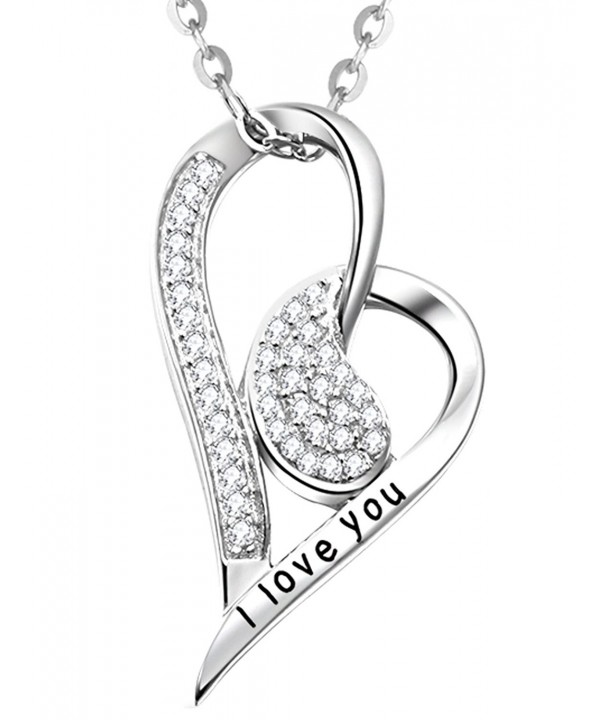 Valentines Necklace Birthday Anniversary Engraved