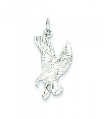 Shop4Silver QC2616 Sterling Silver Eagle