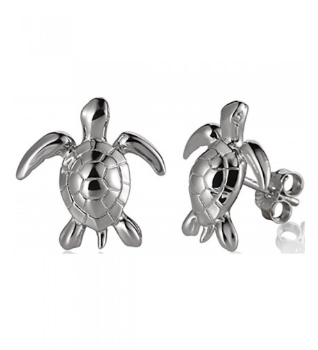Sterling Silver Hawaiian Jewelry Earrings