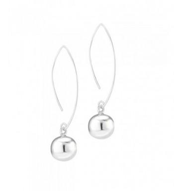 Sterling Silver Threader Dangle Earrings