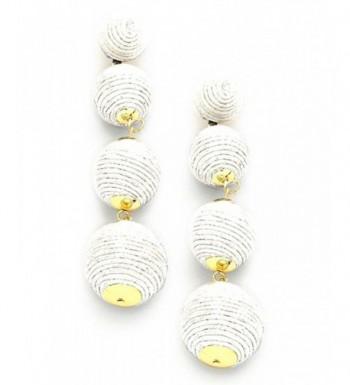 Womens Quadruple Lantern Fashion Earrings