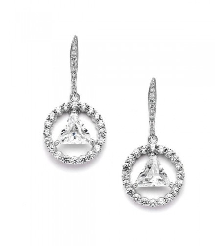 Mariell AA Recovery Earrings Zirconia