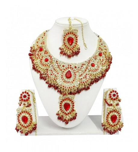 Indian Bollywood Jewelry Necklace Earrings