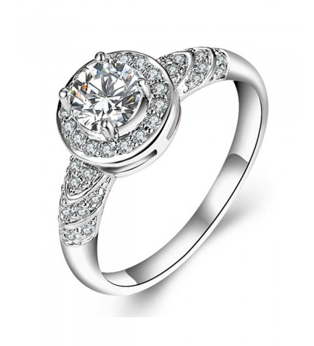 F U Platinum Diamond Engagement Jewelry