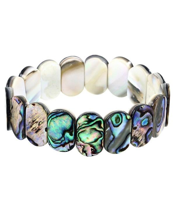 Falari Abalone Stretch Elastic Bracelet