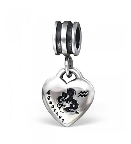 Pro Jewelry Sterling Dangling Aquarius