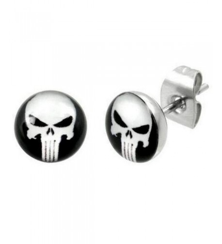 Timeless Treasures Stainless Punisher Earrings