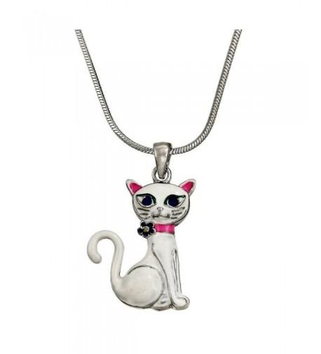 DianaL Boutique Pendant Necklace Enameled