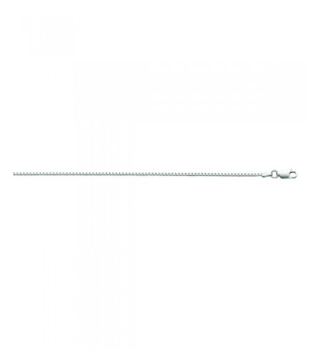 Sterling Silver Rohdium Classic Necklace