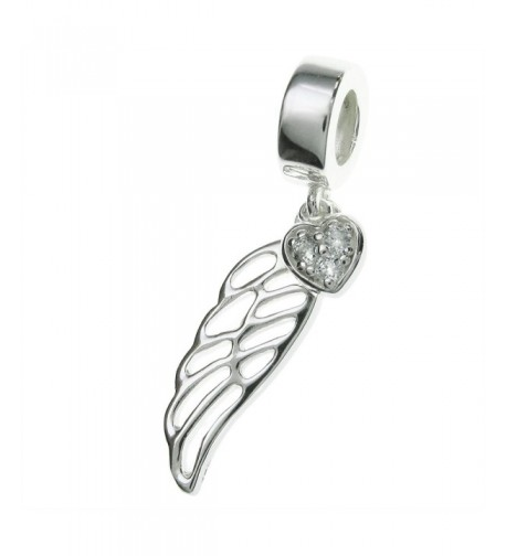 Sterling Silver Crystal European Bracelets
