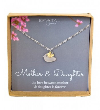 Mother Daughter Necklace Mothers Jewelry