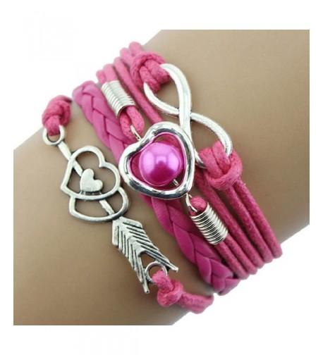 Susenstone1PC Friendship Antique Bracelet Infinity