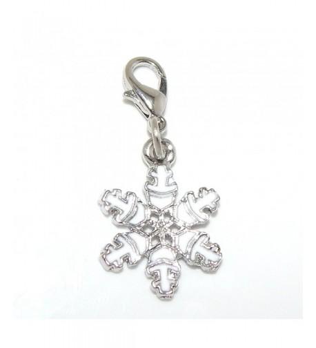 Pro Jewelry Dangling Snowflake Bracelet
