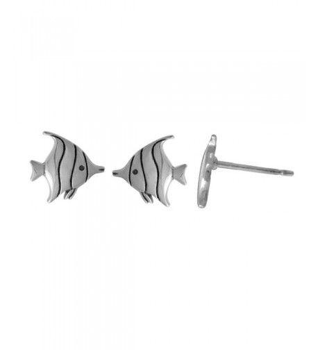 Boma Sterling Silver Tropical Earrings