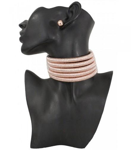 Fabric Fashion Jewelry Strands Necklace