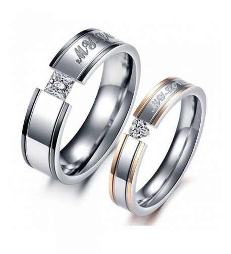Global Jewelry Stainless Anniversary engagement