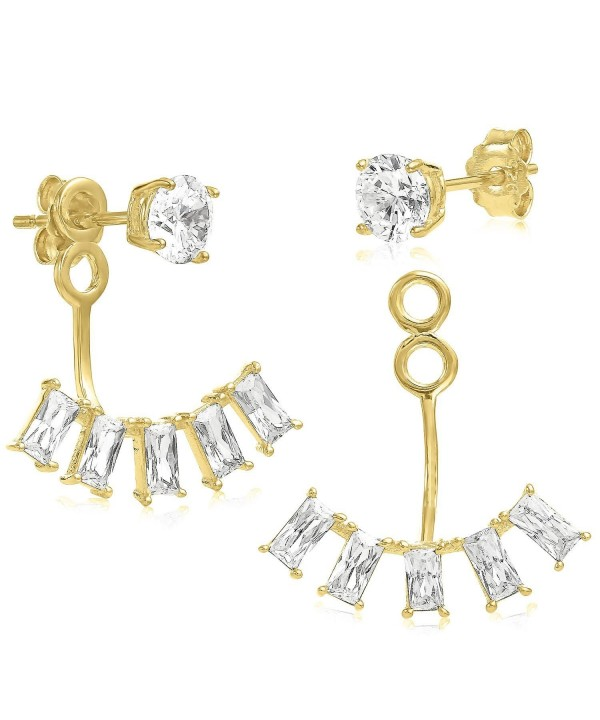Jacket Yellow Plated Sterling Quality Earrings