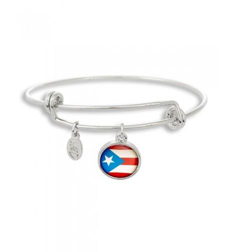 Adjustable Bangle Bracelet featuring Puerto