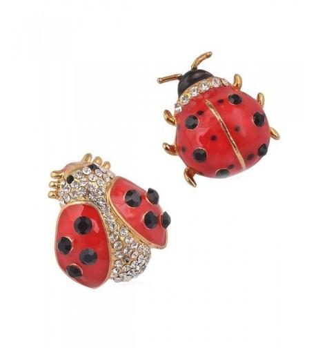 Partyfareast Cute Animal Ladybug Brooch