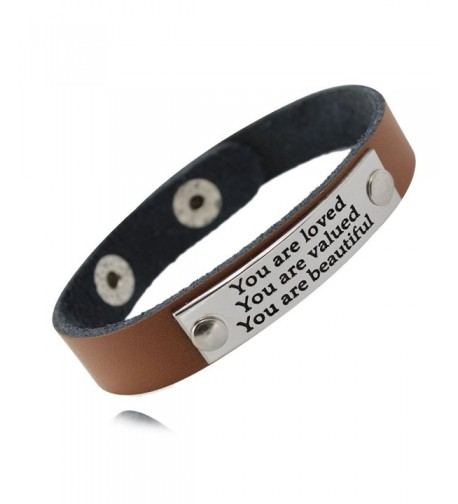 MIKINI Inspirational Motivational Wristband beautiful