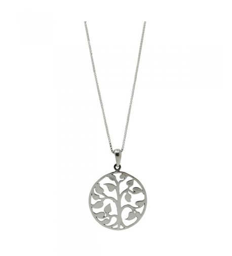 Sterling Silver Pendant Jewelry Necklace