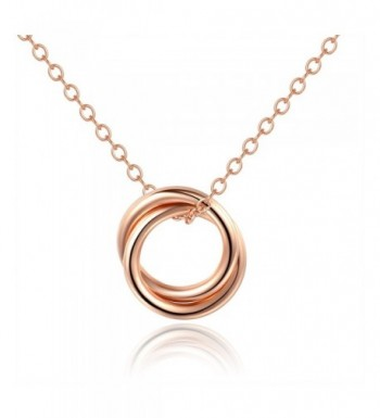 Daughter NecklaceDouble Necklace Two Circle Necklace16