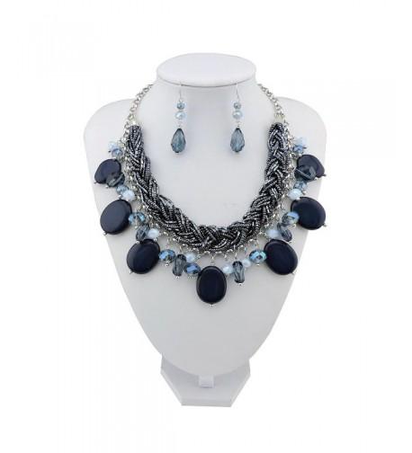 Statement Necklace Pendant Jewelry NK 10428