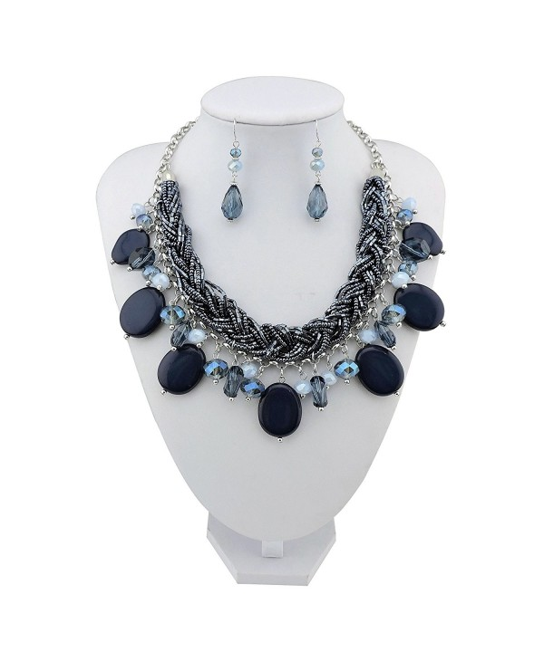 Statement Necklace Pendant Jewelry NK 10428