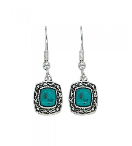 Montana Silversmiths Womens Earrings Turquoise