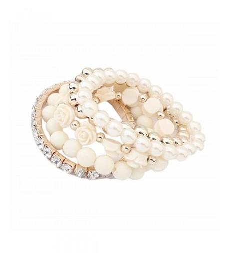 DATEWORK Acrylic Shining Rhinestone Bracelet