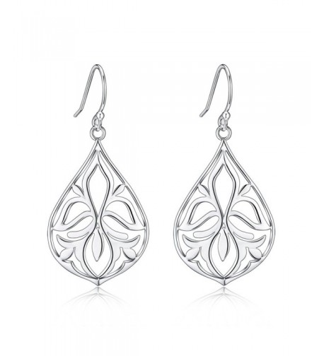 Polished Sterling Filigree Earrings Just Launched