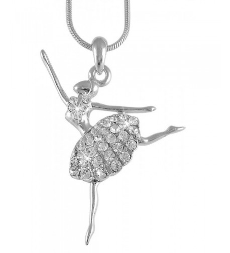 Ballerina Ballet Dancer Pendant Necklace