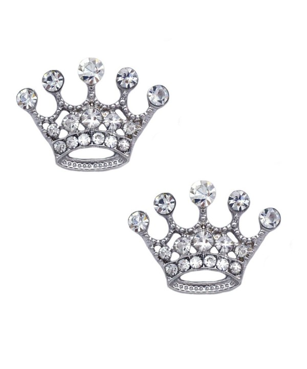 Queen Princess Crown Tiara Charm Hook Dangle Earrings 7 8