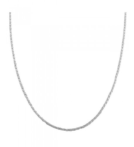 Sterling Silver 1 1mm Twisted Chain