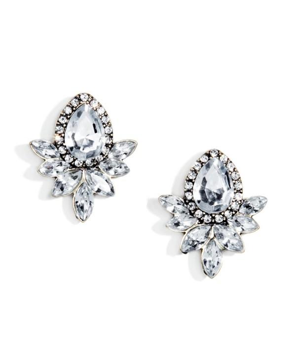 Statement Earrings Silver Vintage Inspired