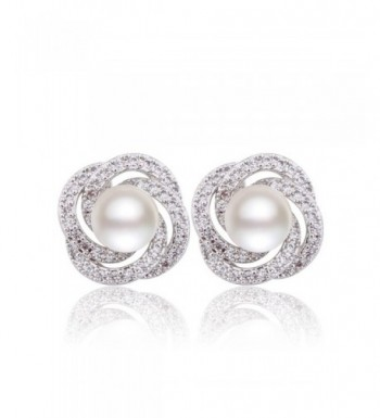 GULICX Simulated Bridesmaid Pierced Earrings