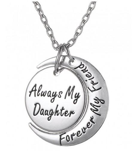 Daughter Necklace Forever Inscribed Sentimental