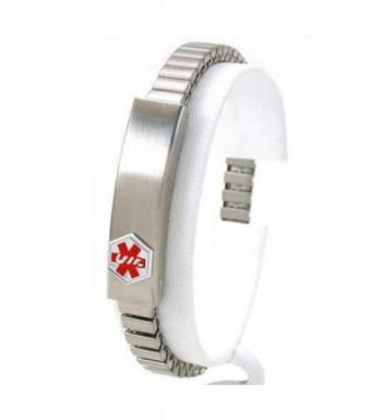 Medical Information Bracelet Stainless Steel