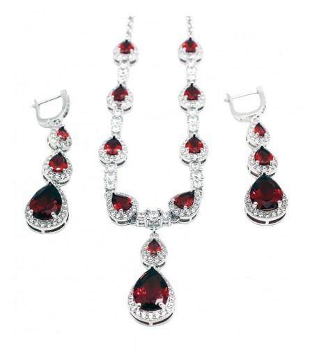 HERMOSA Necklace Earrings Amethyst Morganite