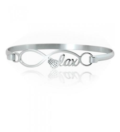Lacrosse Bracelet Stainless Hypo Allergenic Infinity