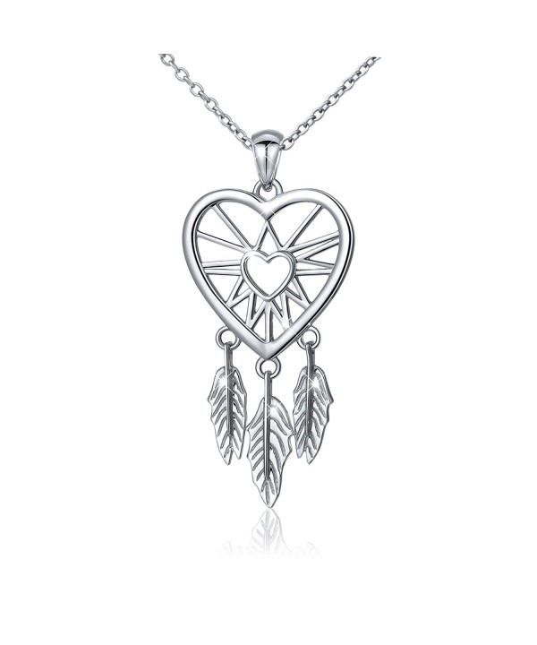 Sterling Catcher Feather Forever Necklace18
