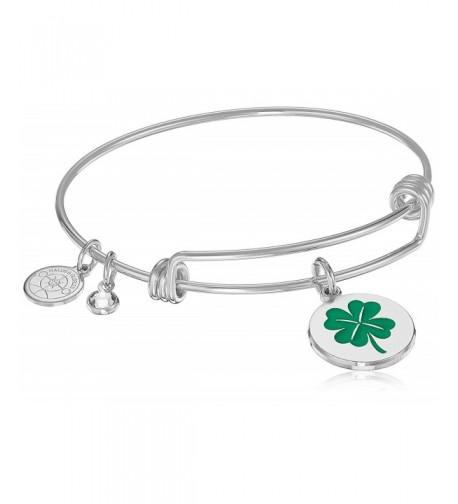 Halos Glories Clover Silver Bracelet