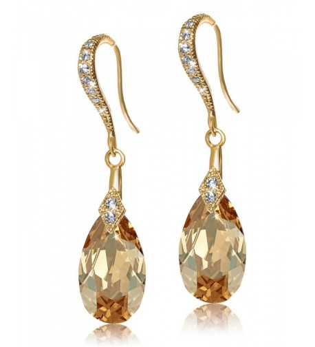 Lelu Sterling Swarovski Elements Earrings
