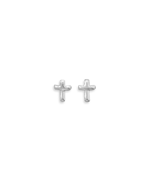 Extra Polished Sterling Silver Earrings