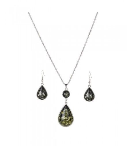 YAZILIND Fashion Necklace Earring Jewelry