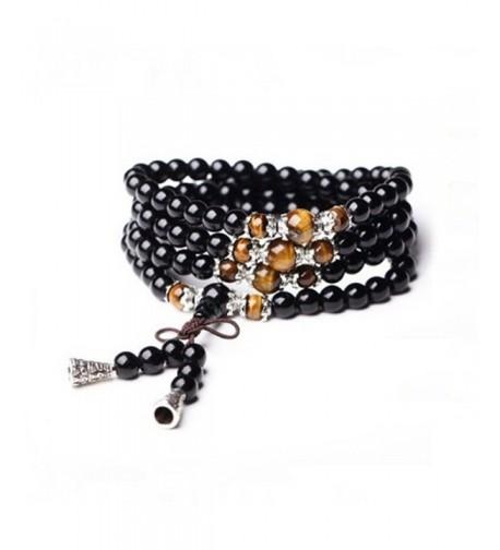 CASOTY Multilayer Obsidian Bracelet Fortune