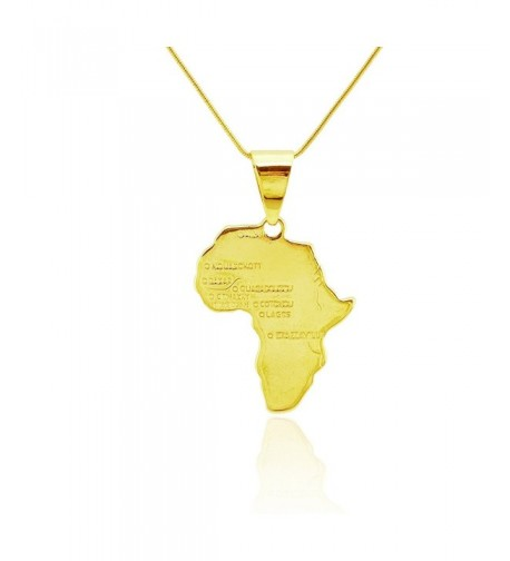 Passage African Pendant Necklace MadeChain